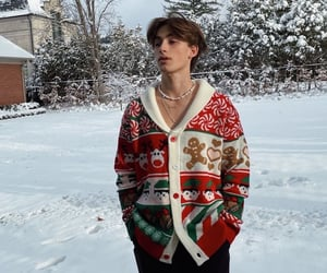 christmas, cold, and johnny image