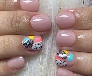 minimal, nail swag, and nail art image