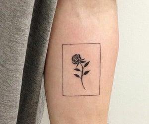 rose tattoo and tattoo image