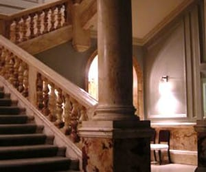 hotel, staircase, and england image