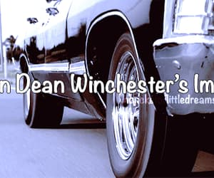 car, impala, and spn image