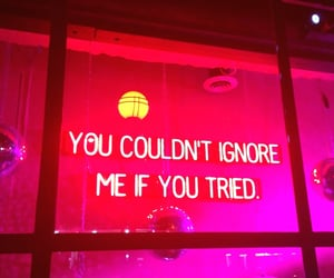 quotes, lights, and neon image