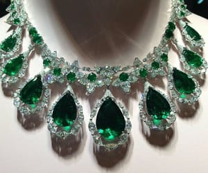 emerald, gold, and jewelry image