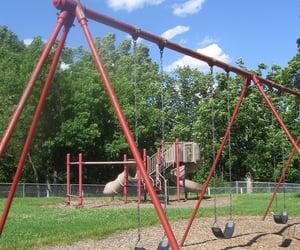 childhood, nostalgia, and playground image