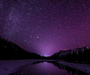 night, purple, and wallpaper image