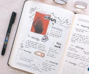journal, bujo, and note image