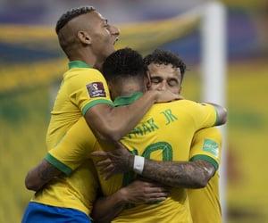 futebol, seleção brasileira, and neymar image
