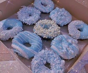 blue, colors, and food image