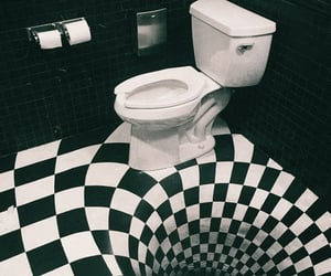 black and white, checkered, and b&w image