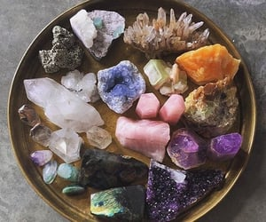 crystal, aesthetic, and stone image