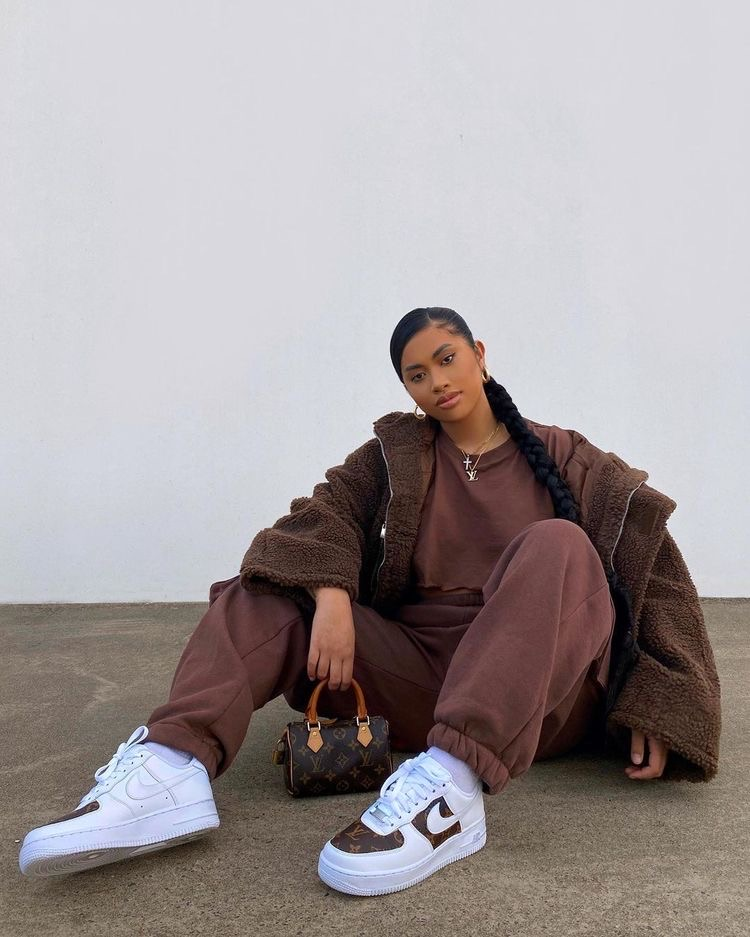 Louis Vuitton and outfit image
