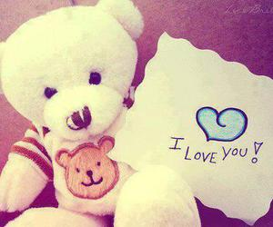 love and teddy image
