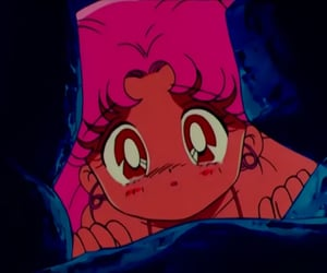 many faces, screencaps, and chibiusa tsukino image