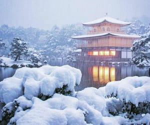 japan, kyoto, and winter image