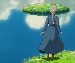 anime, howls moving castle, and howl no ugoku shiro image