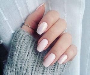 girly, nails, and nailspolish image
