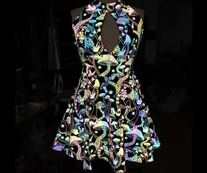 cute dress, sexy dress, and reflective clothing image