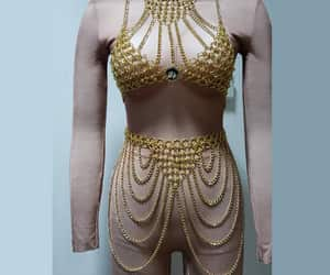 armor, chain mail, and rave outfit image