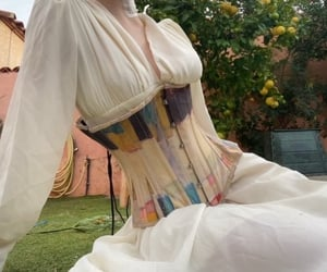 dress, fashion, and garden image