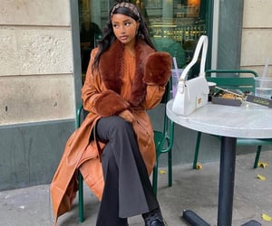 fashion, coat, and inspo image