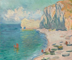 1885, impressionism, and the beach image