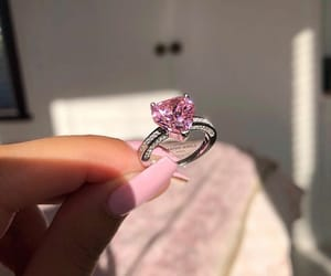 diamond, jewel, and love image