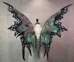dark, fae, and fairy image