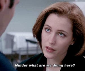 90s, dana scully, and fox mulder image