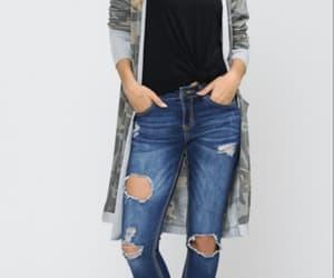 camo, cardigan, and clothing image
