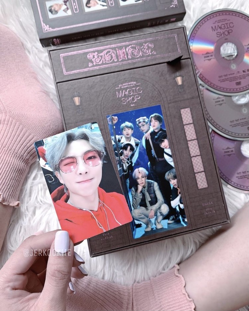 dvd, kpop, and rm image