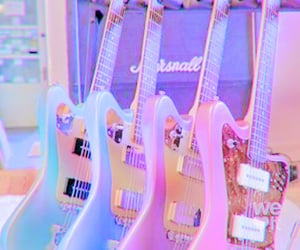 guitar, music, and aesthetic image
