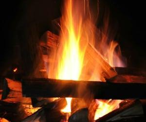 dark, warm, and burn image