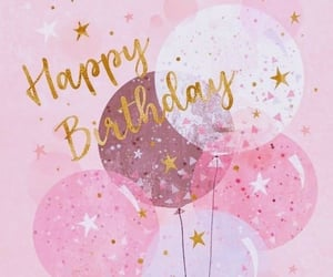 balloons, birthday, and birthday party image