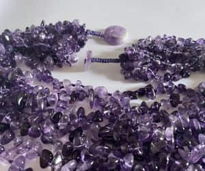 amethyst, etsy, and vintage jewelry image