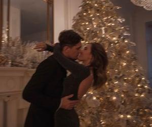 style, christmas, and couple image