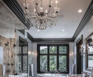 bathroom, dream home, and home image
