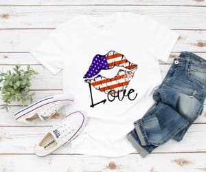 american flag, etsy, and patriotic image