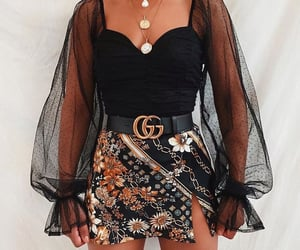 fashion, gucci, and skirt image