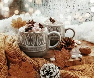 chocolate, cozy, and hot ​chocolate image