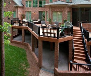 architecture, construction, and deck image