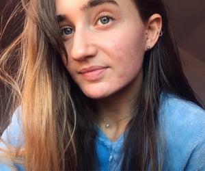happy, piercing, and pyjama image