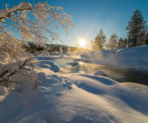 sunshine and SNOW image