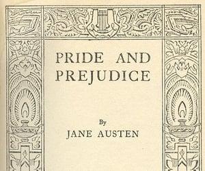 jane austen, book, and pride and prejudice image