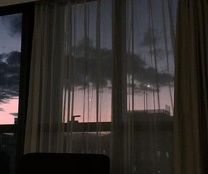 aesthetic, dark, and sky image