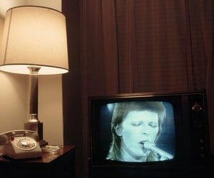 david bowie and tv image