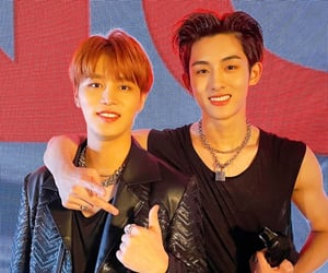 winwin, nct, and taeil image