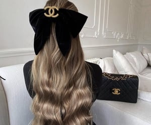 chanel, hair, and accessories image
