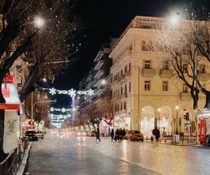 aesthetic, christmas, and Greece image