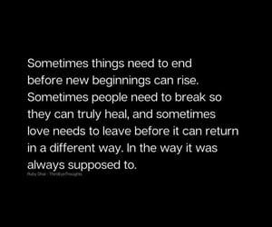 beginning, break, and ending image