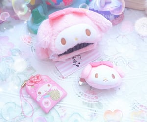 hair clip, hello kitty, and sanrio image